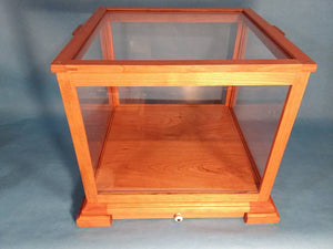 12 Inch Display Case with Drawer