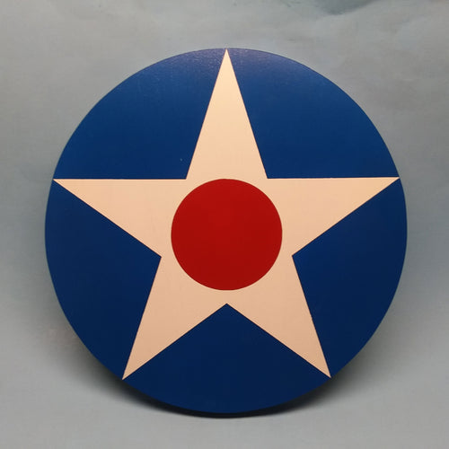 Interwar American Star Painted Display Base