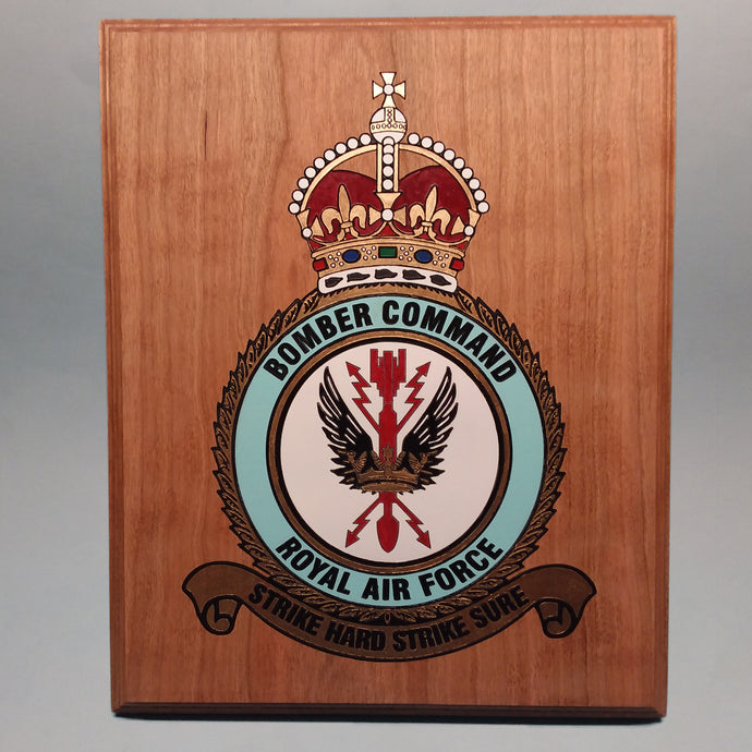 RAF Bomber Command Painted Display Base