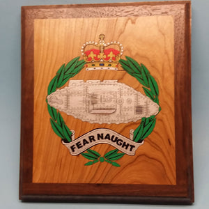 Royal Tank Regiment Painted Display Base