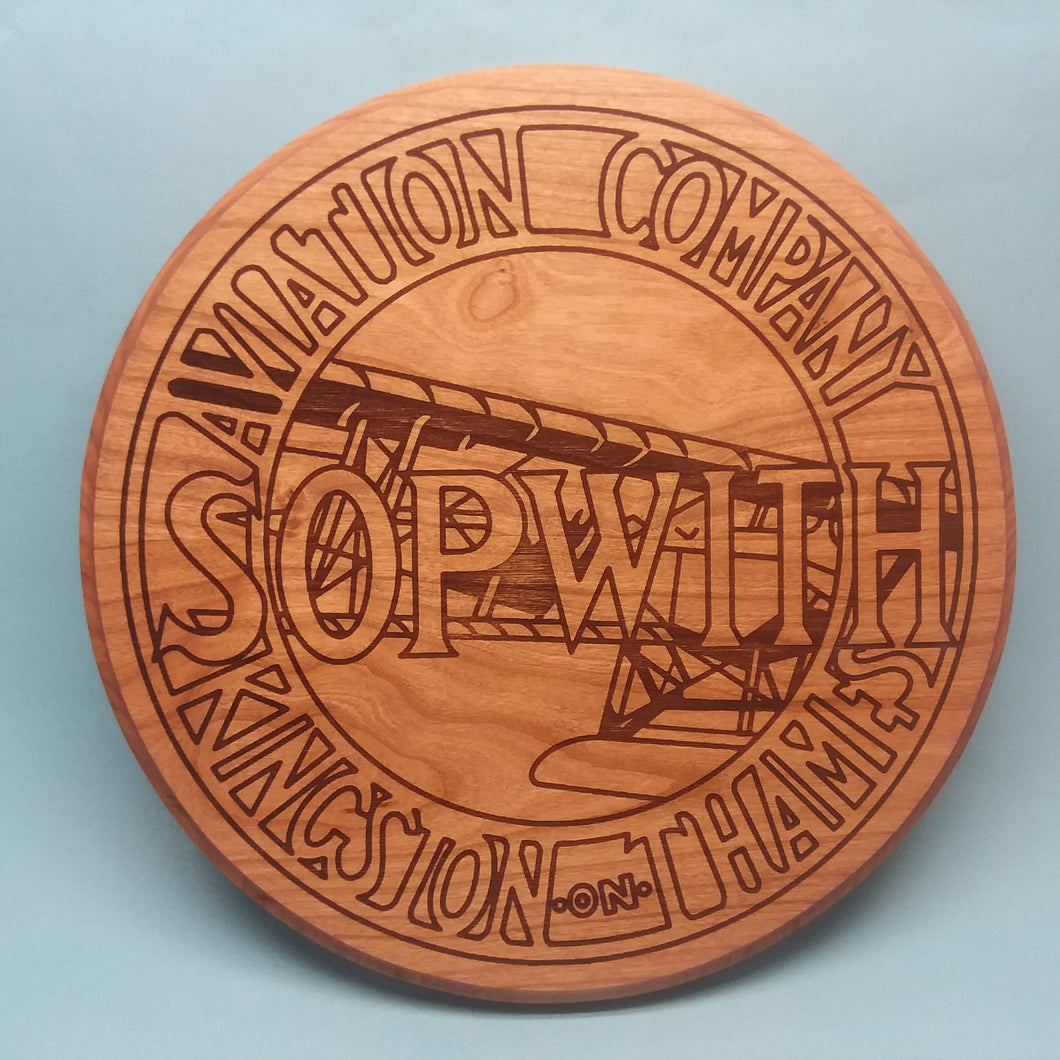 Sopwith Laser-Engraved Display Base