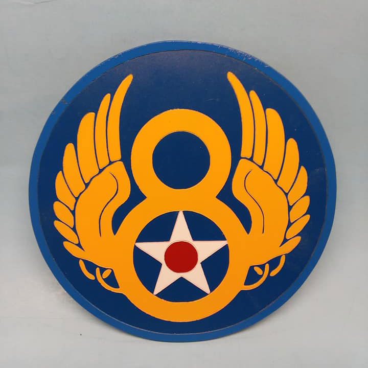 US Eighth Air Force Painted Display Base