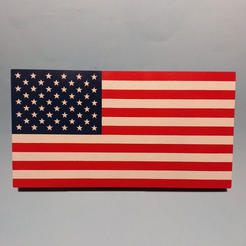 United States Flag 50-Star Painted Display Base