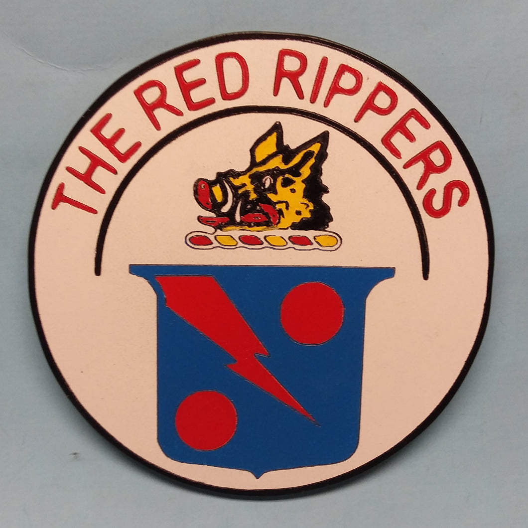 VFA-11 The Red Rippers Painted Display Base