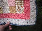 Puffy Patchwork Quilt
