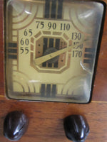 Vintage Philco Wooden Deco Table Radio