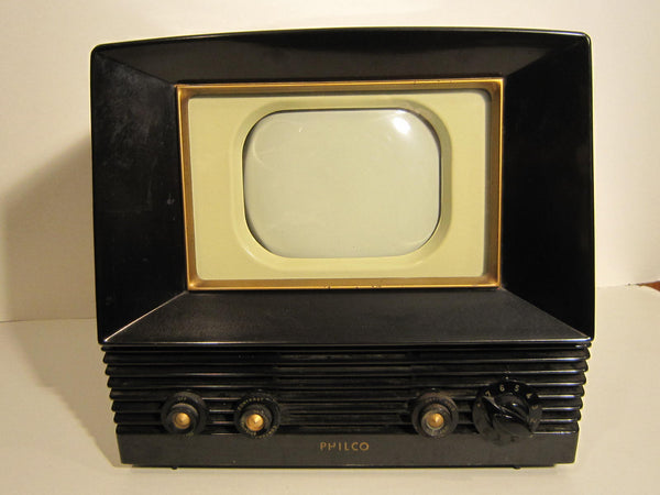 Antique Bakelite Philco TV
