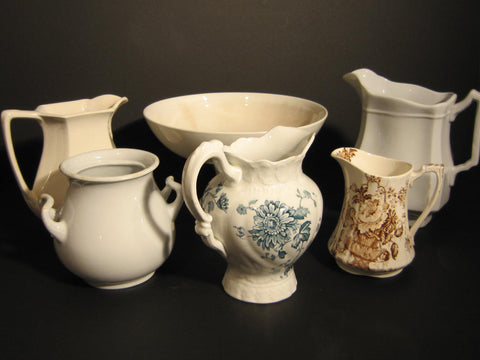 Ironstone & Transferware grouping