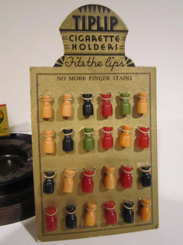 Store Display - Bakelite Cigarette Holders-Tip Lip
