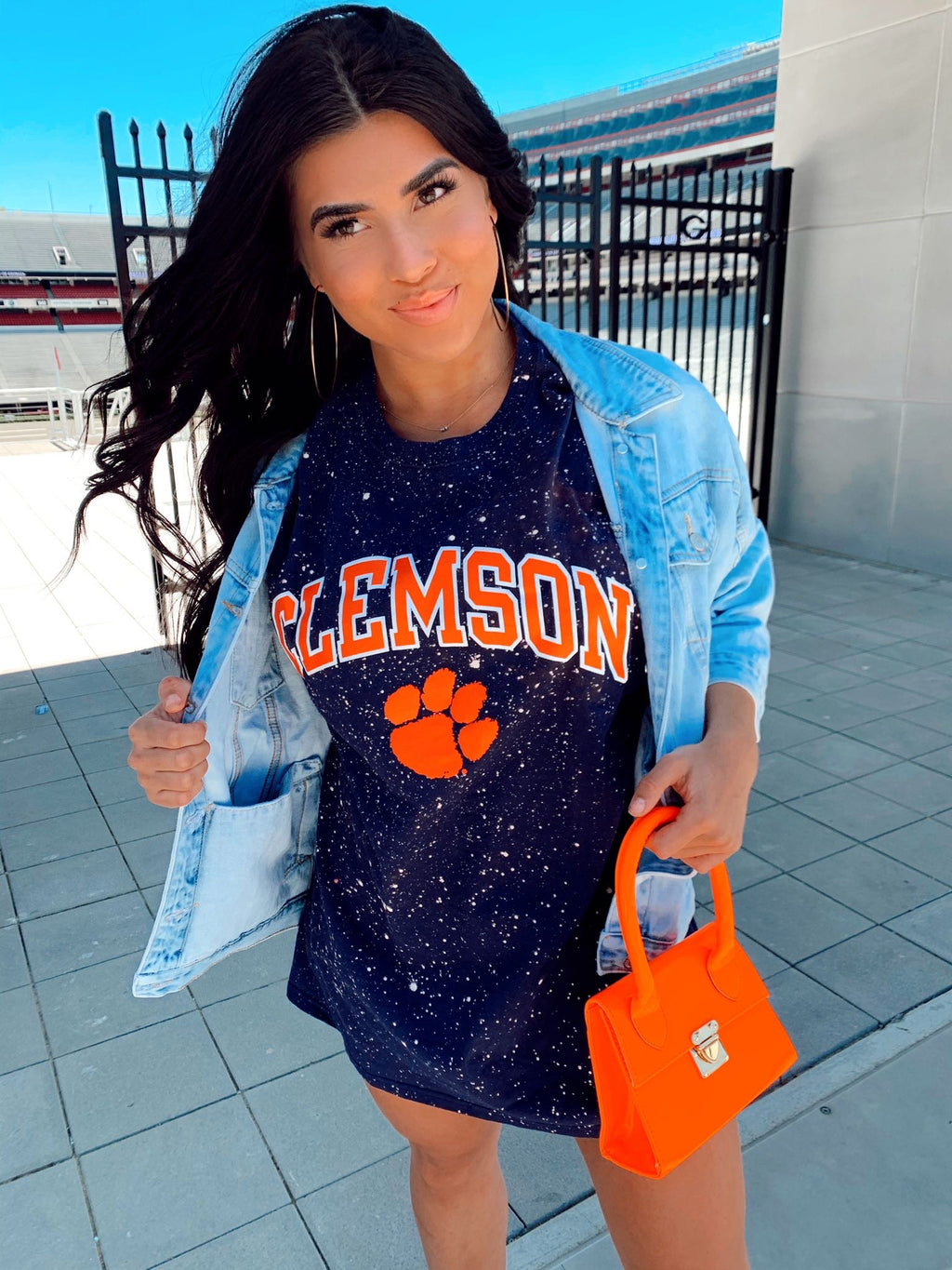 I.F.L.Y On Clemson Time Tee
