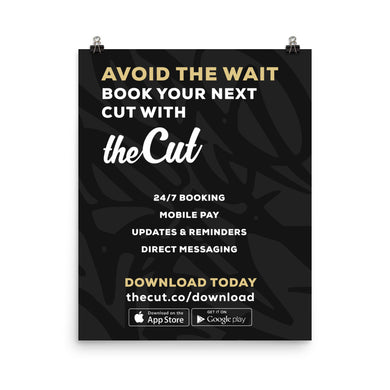 theCut In-Shop Poster