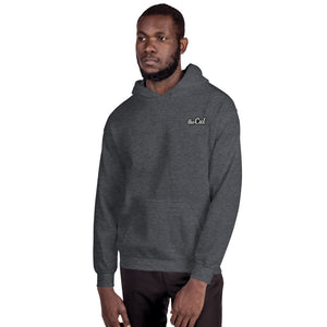 theCut Chest Logo Hoodie