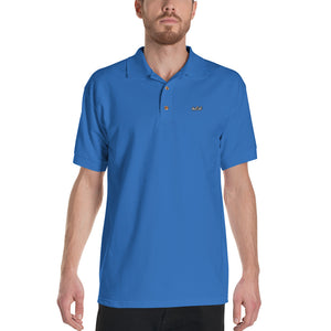 theCut Embroidered Polo Shirt