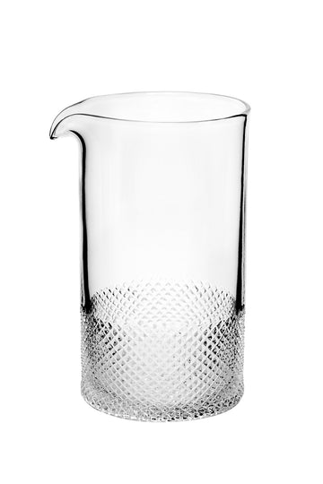 Mixing Glass, Diamond by Richard Brendon
