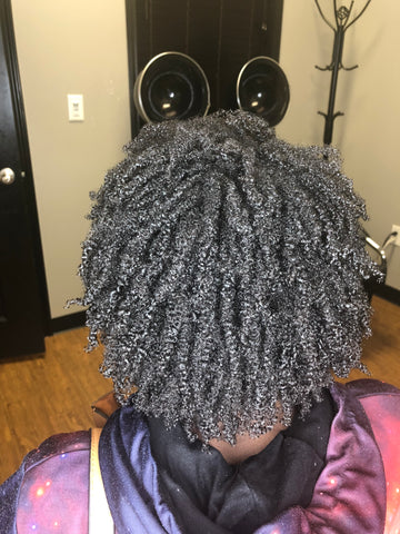 Wash and go on 4c hair