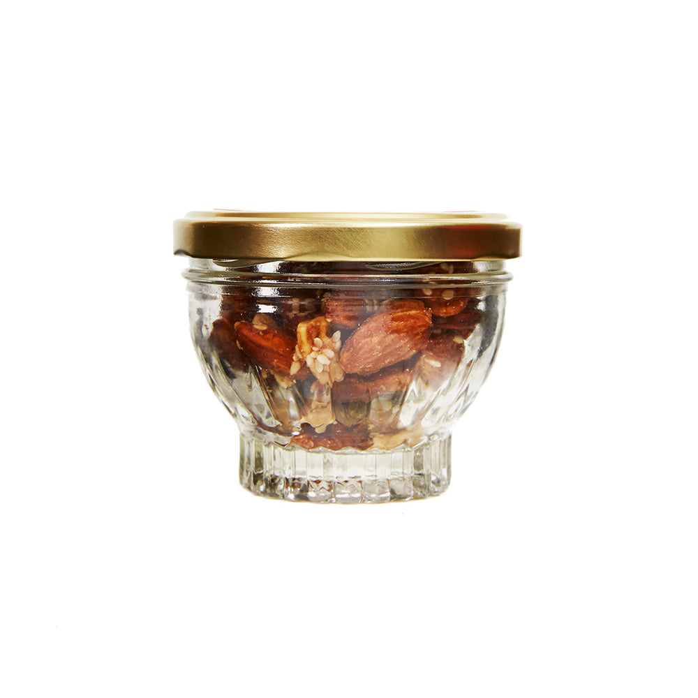 Honey Glazed Umami Cocktail Nuts