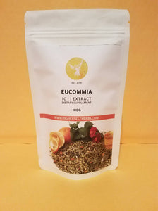 Eucommia Bark - No.1 Chinese Herb for Bones, Ligaments, Joints, Tendons and Connective Tissue