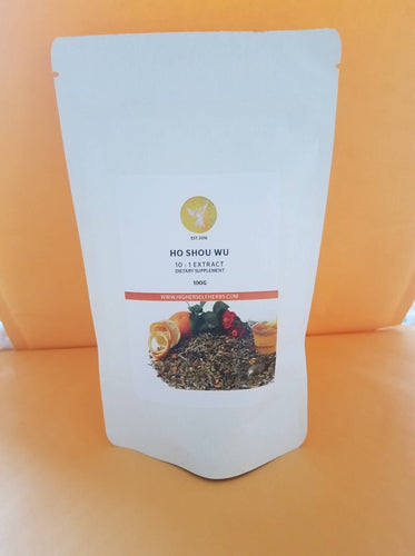 Ho Shou Wu - Hair Color, Restoration, Sleep, Calm, Anxiety, Adrenal Herb