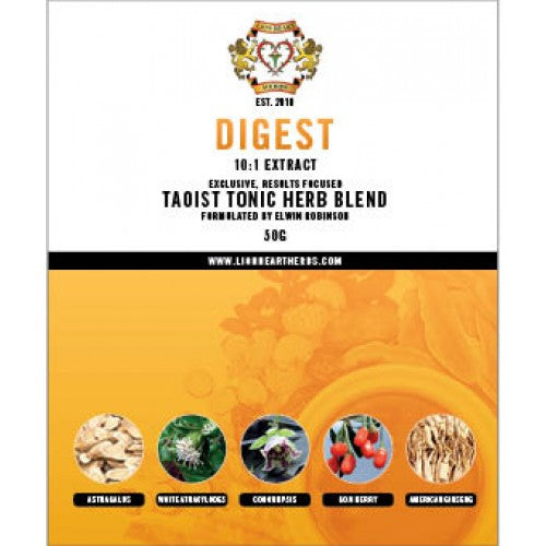 DIGEST Herbal Formula for Energy/Chi & Digestion