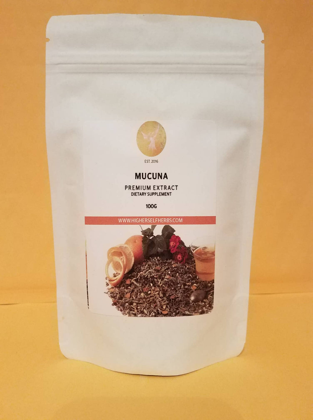 Mucuna - Highest L-Dopa, Dreams, Happiness, Recovery, Sleep, Adrenals