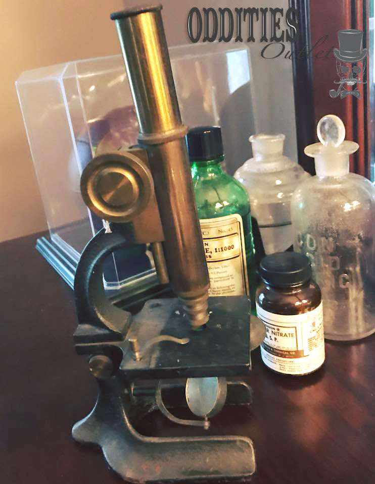 Antique Atco Microscope (estimated early 1900's)