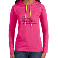 Ladies Paranormal Equipment List Ladies Lightweight Hoodie