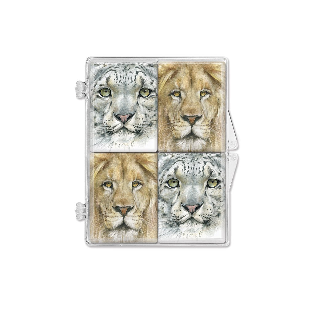[0055-MGS] Big Cats1 Magnet Set