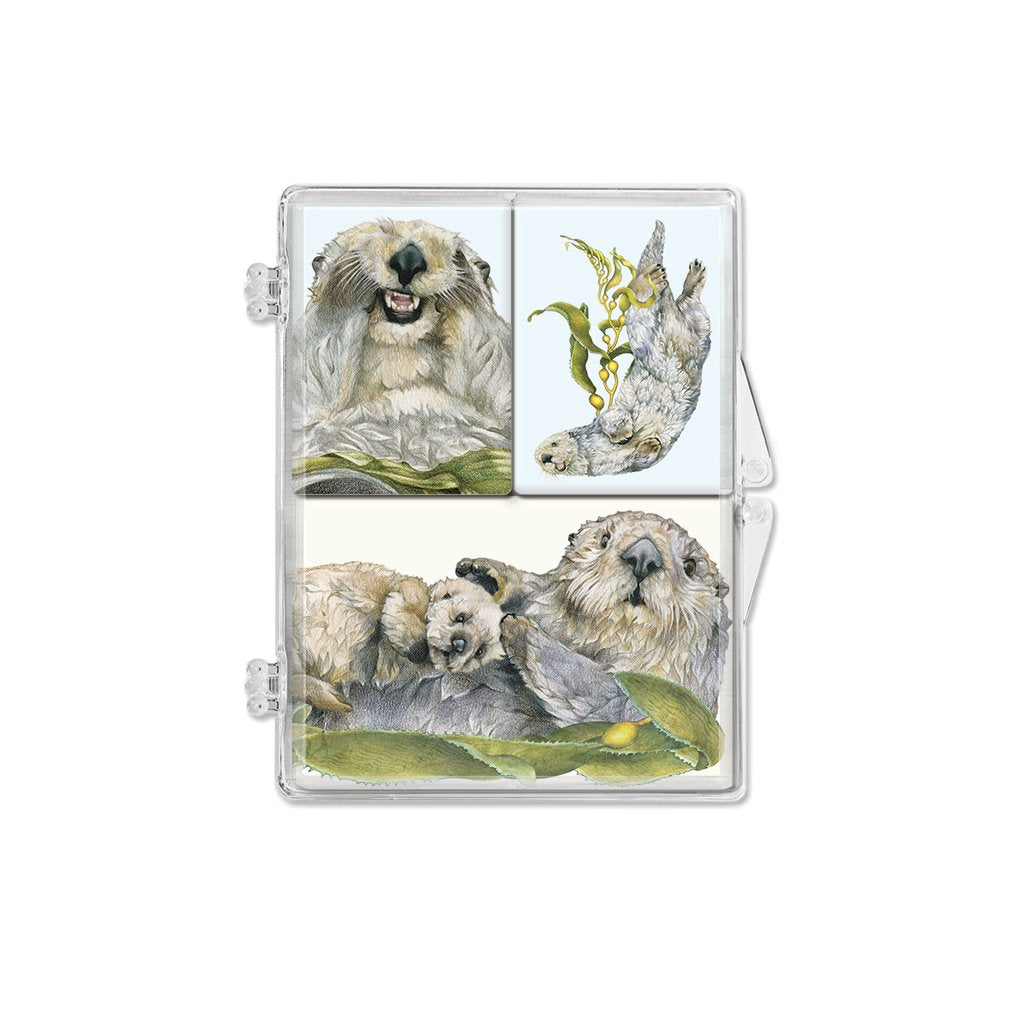 [0085-MGS] Sea Otters1 Magnet Set