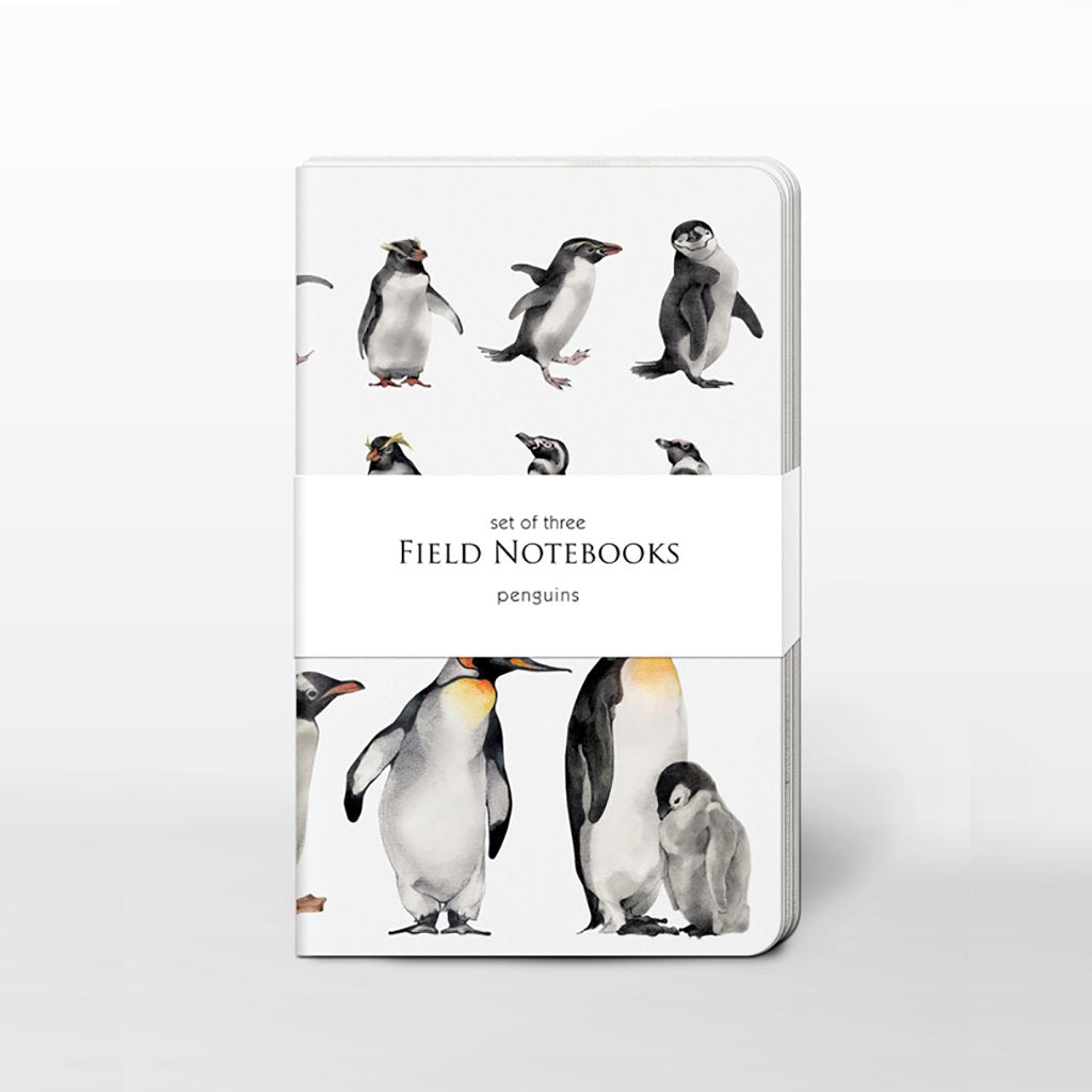 [00125C-SJ465] Penguins Field Journal Set
