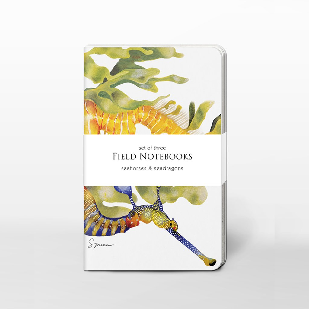 [0200C-SJ465] Seahorses & Seadragons Field Journal Set