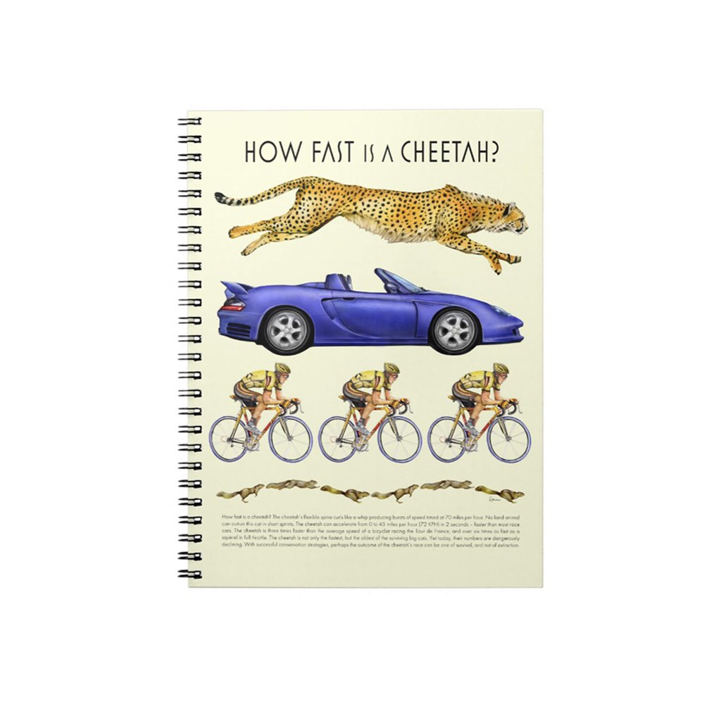[027-J] How Fast Cheetah Journal
