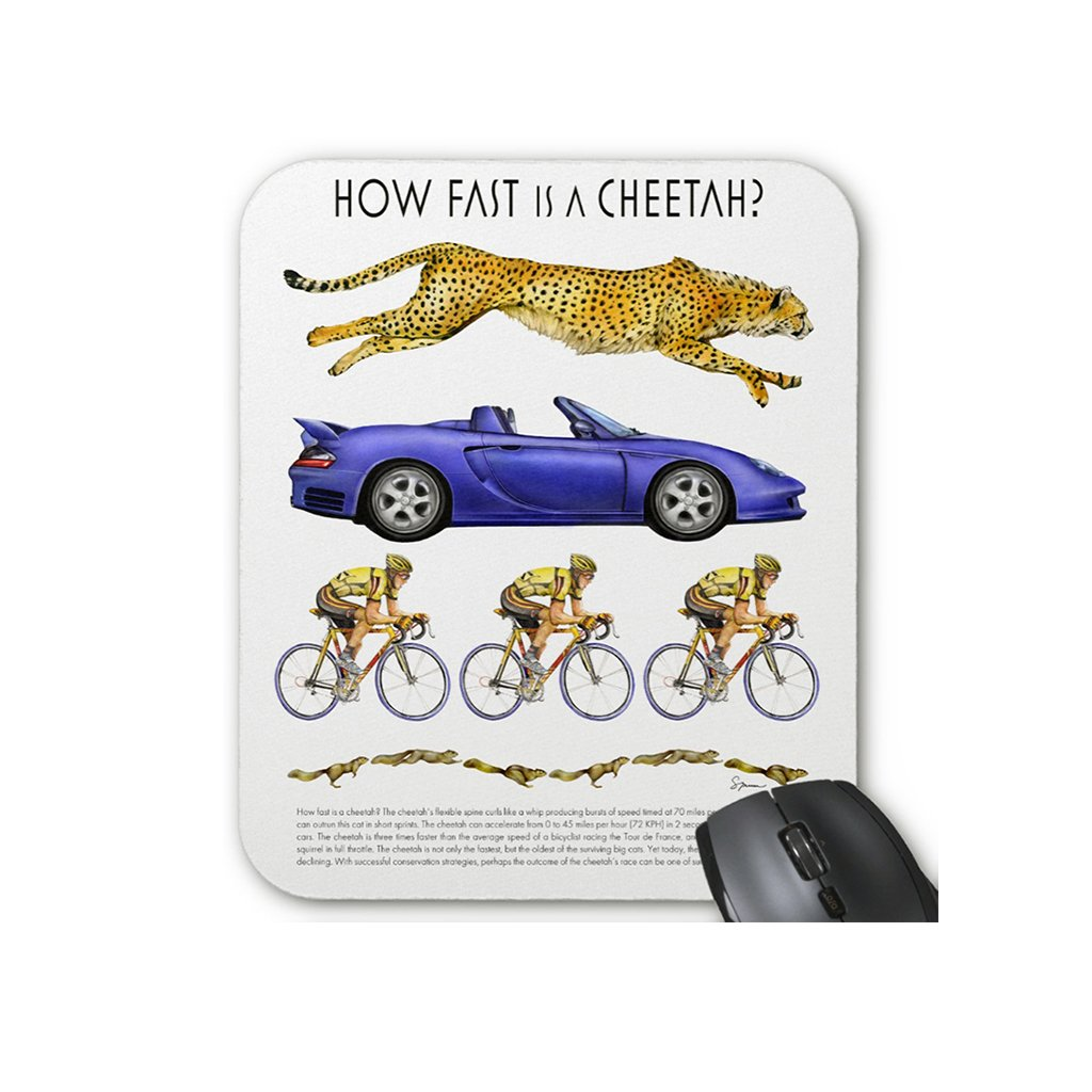 [027-MP] How Fast Cheetah Mousepad