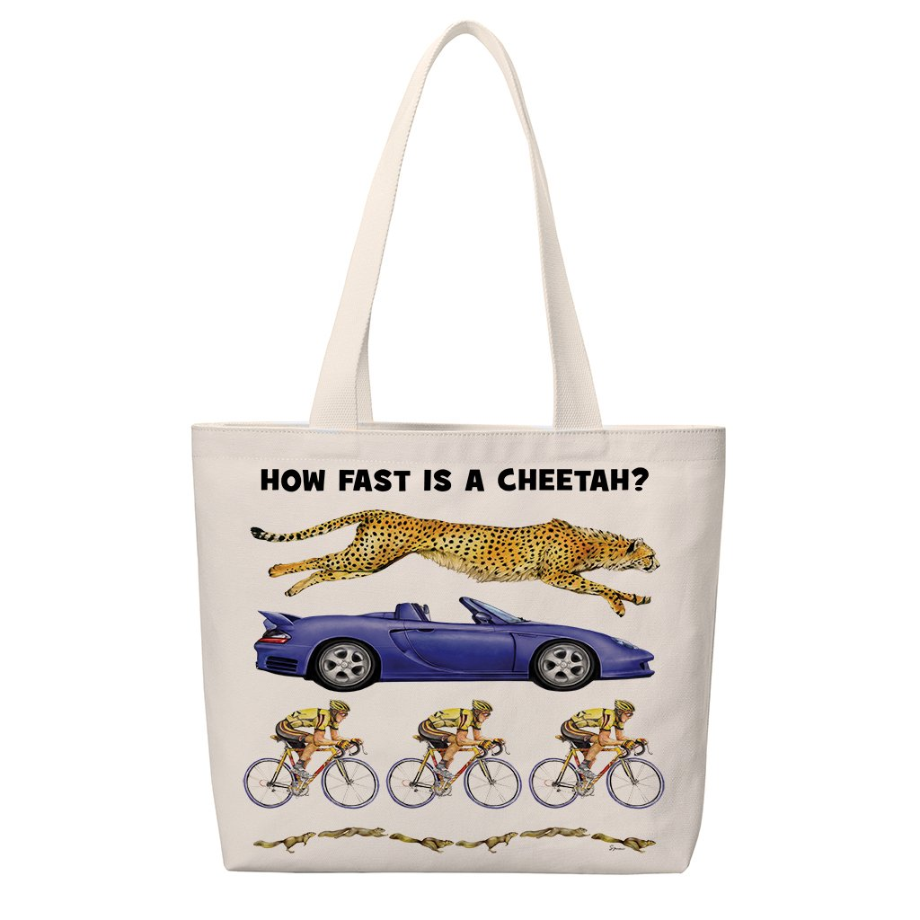[TUS-027] How Fast Cheetah Totes
