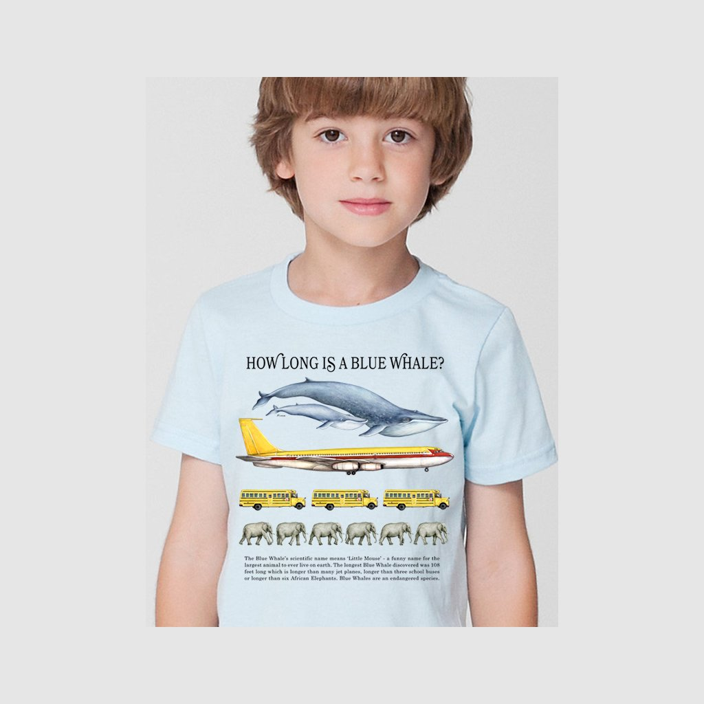 [029-T] How Long Whale Tee
