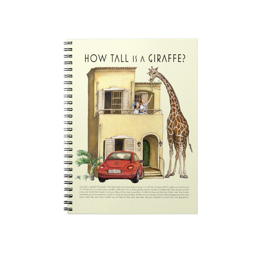 [034-J] How Tall Giraffe Journal