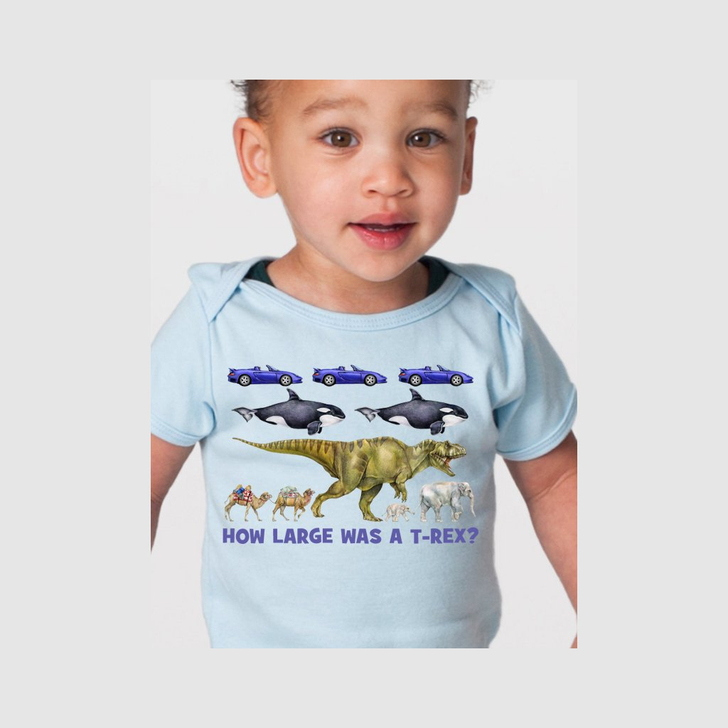 [040-T] How Large T-Rex Tee