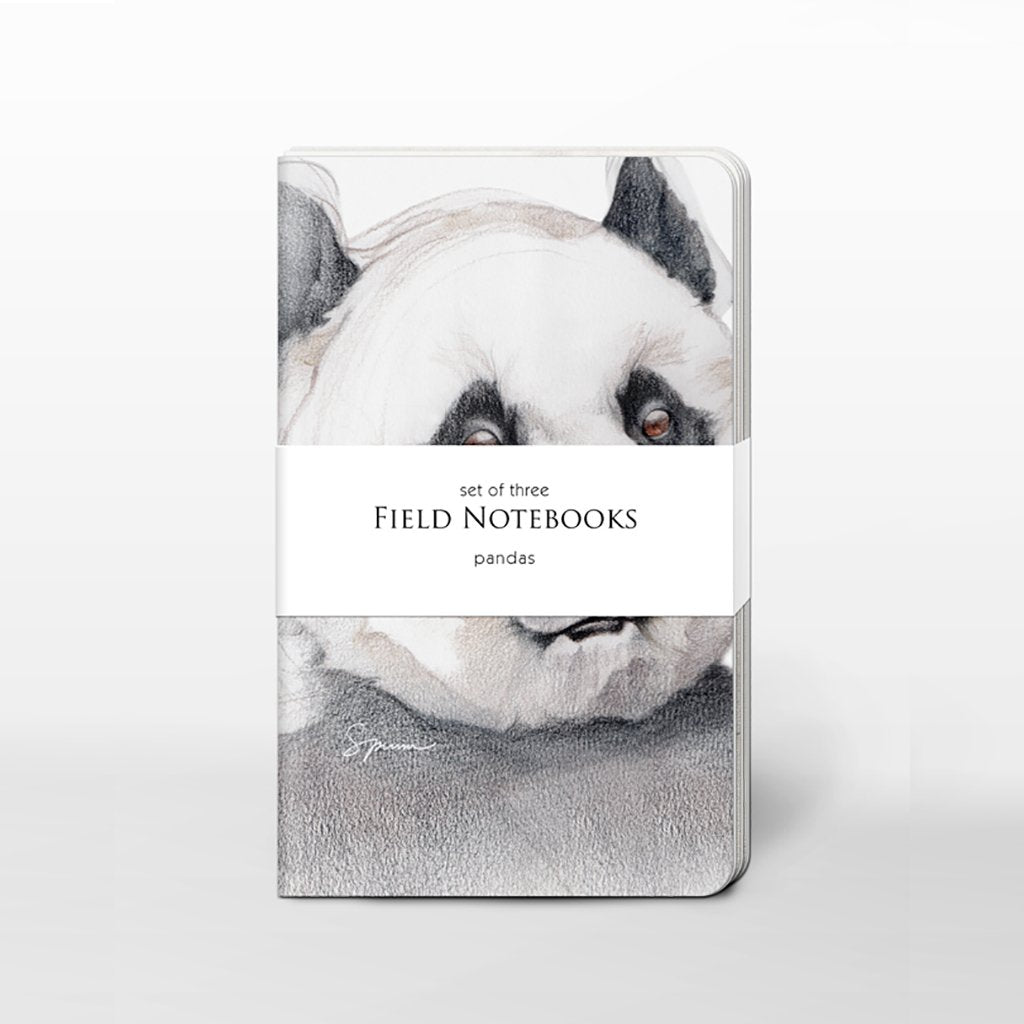 [0400C-SJ465] Pandas Field Journal Set
