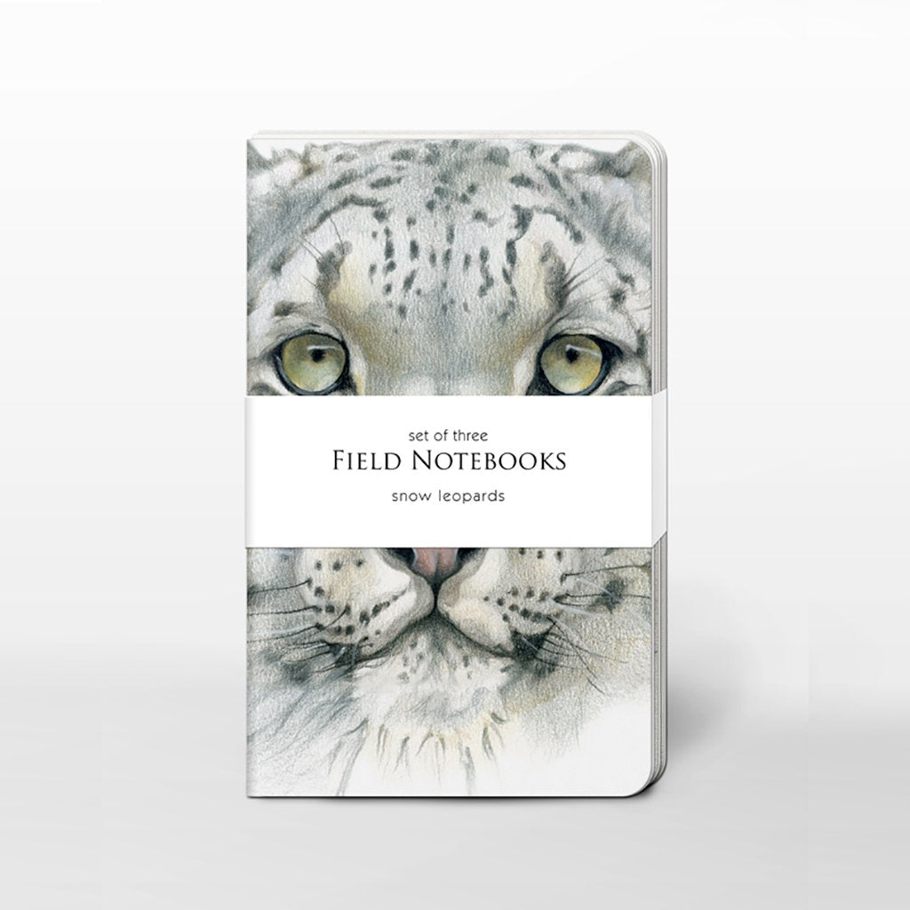 [0470C-SJ465] Snow Leopards Field Journal Set