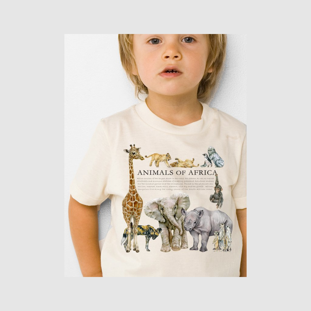 [050-T] Animals of Africa Tee