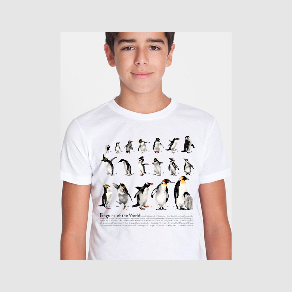 [072-T] Penguins of the World Tee