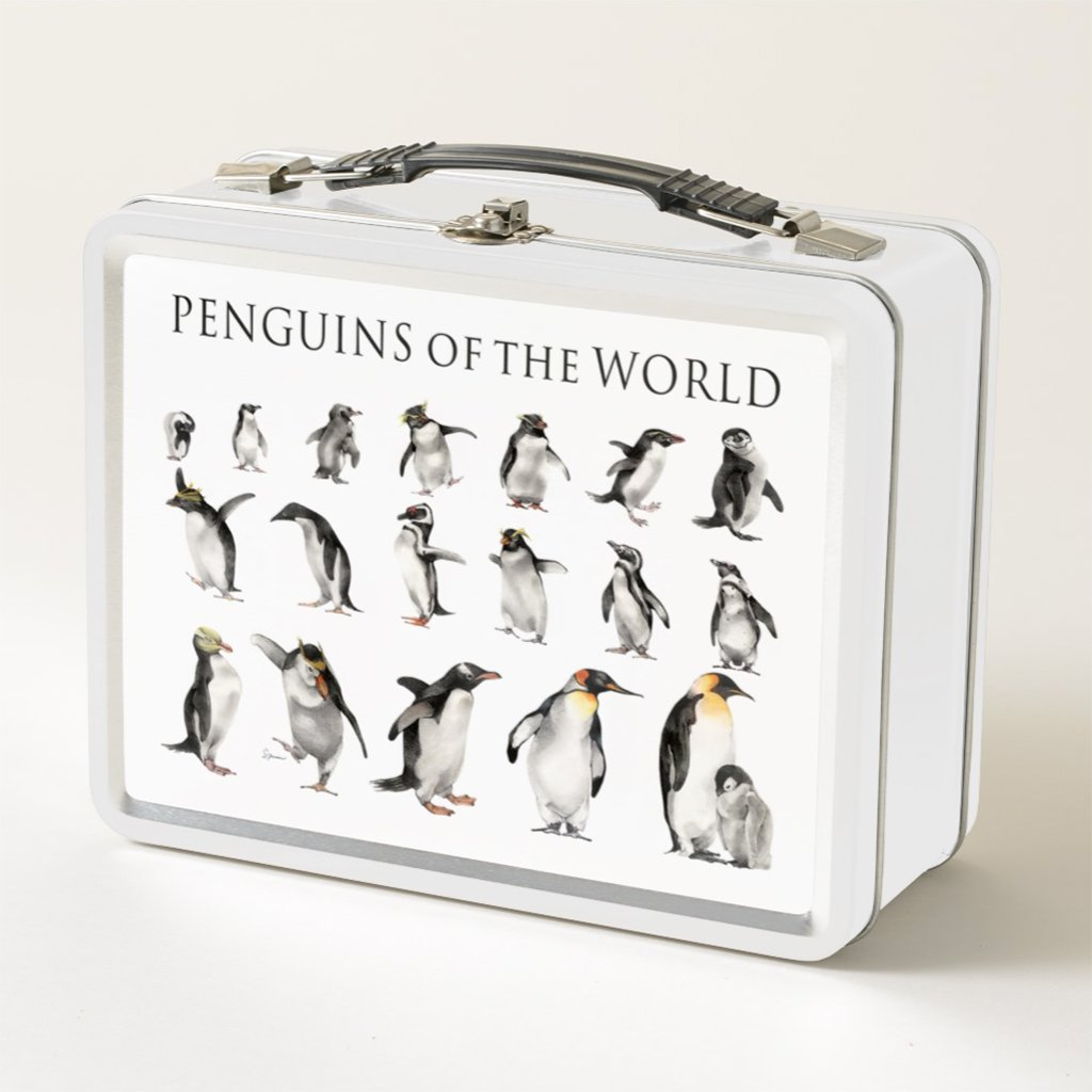 [072-LBT] Penguins of the World Lunch Box