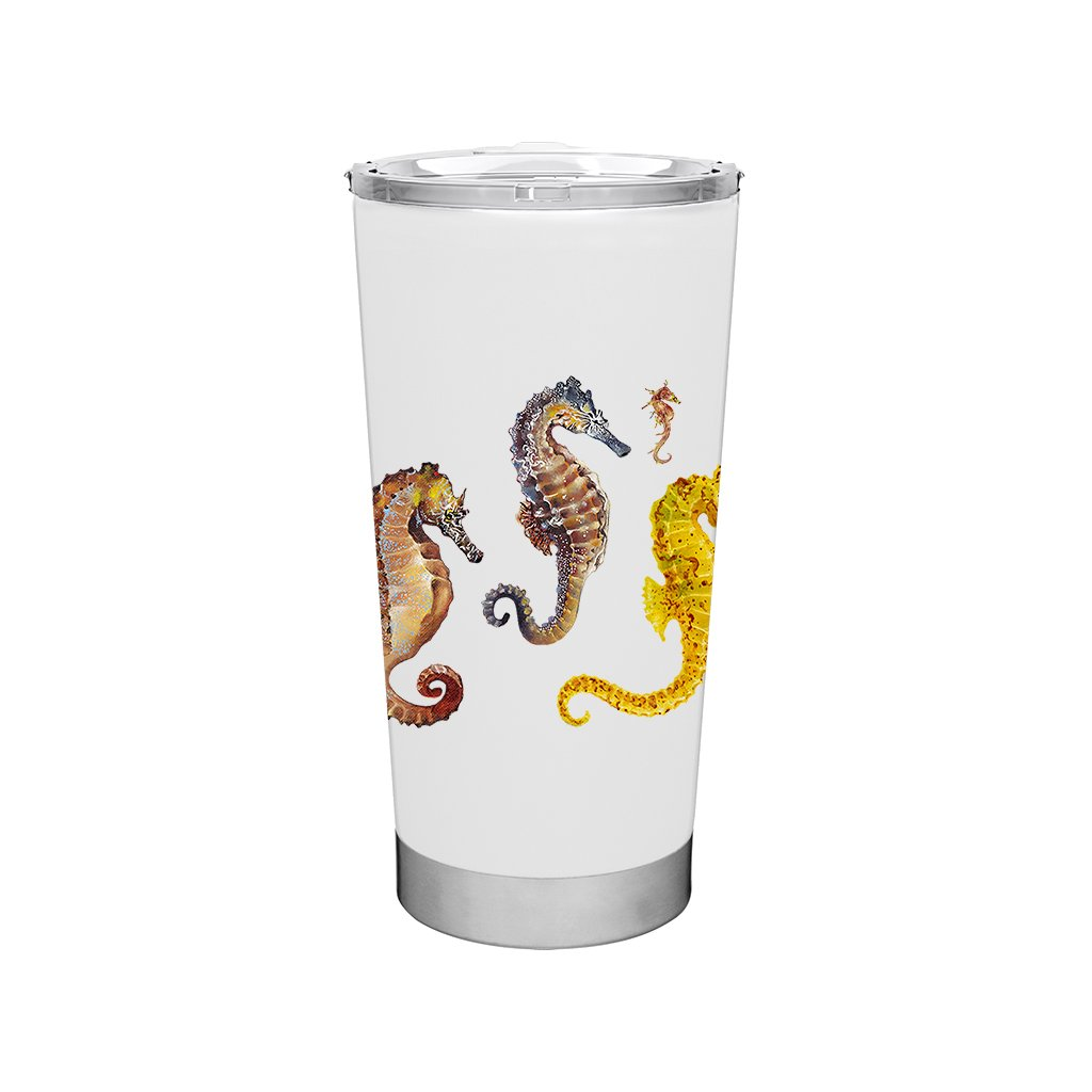 [TF-075] World Seahorses Frost Tumbler