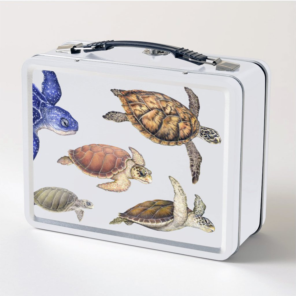 [077-LBT] Sea Turtles of the World Lunch Box FB