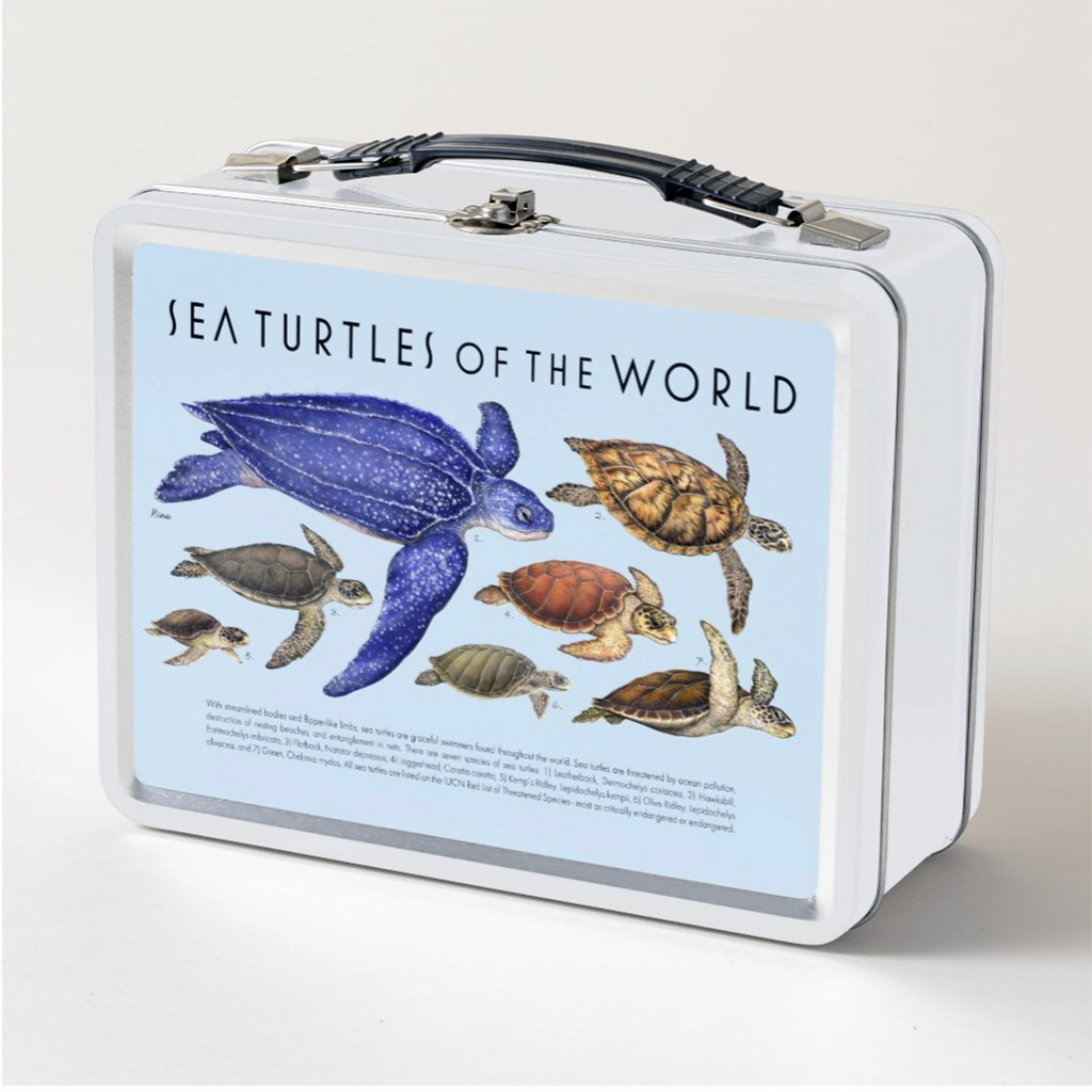 [077-LBT] Sea Turtles of the World Lunch Box