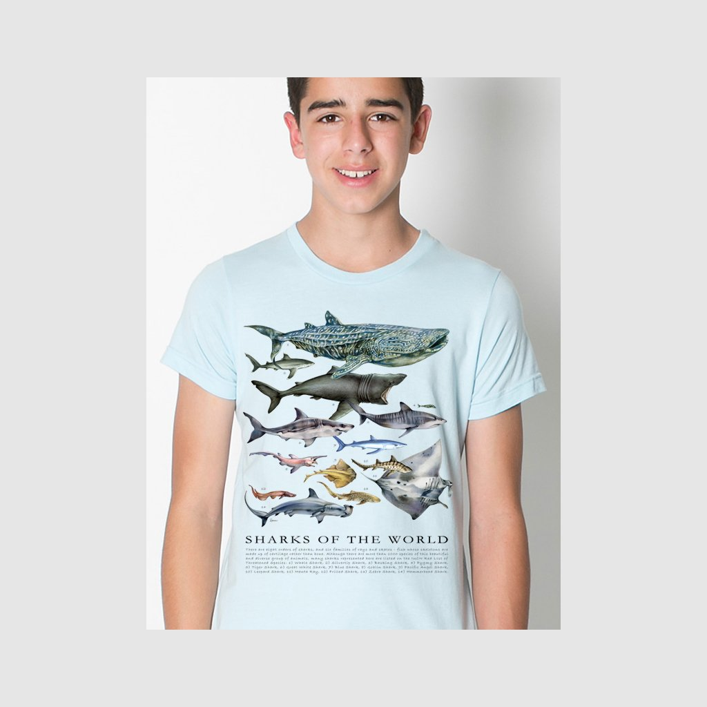 [079-T] Sharks of the World Tee