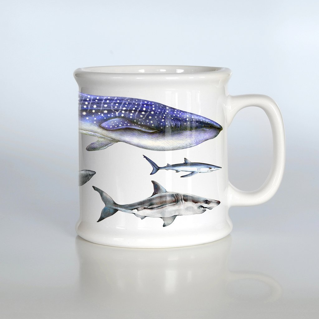 [079-AM] World Sharks American Mug