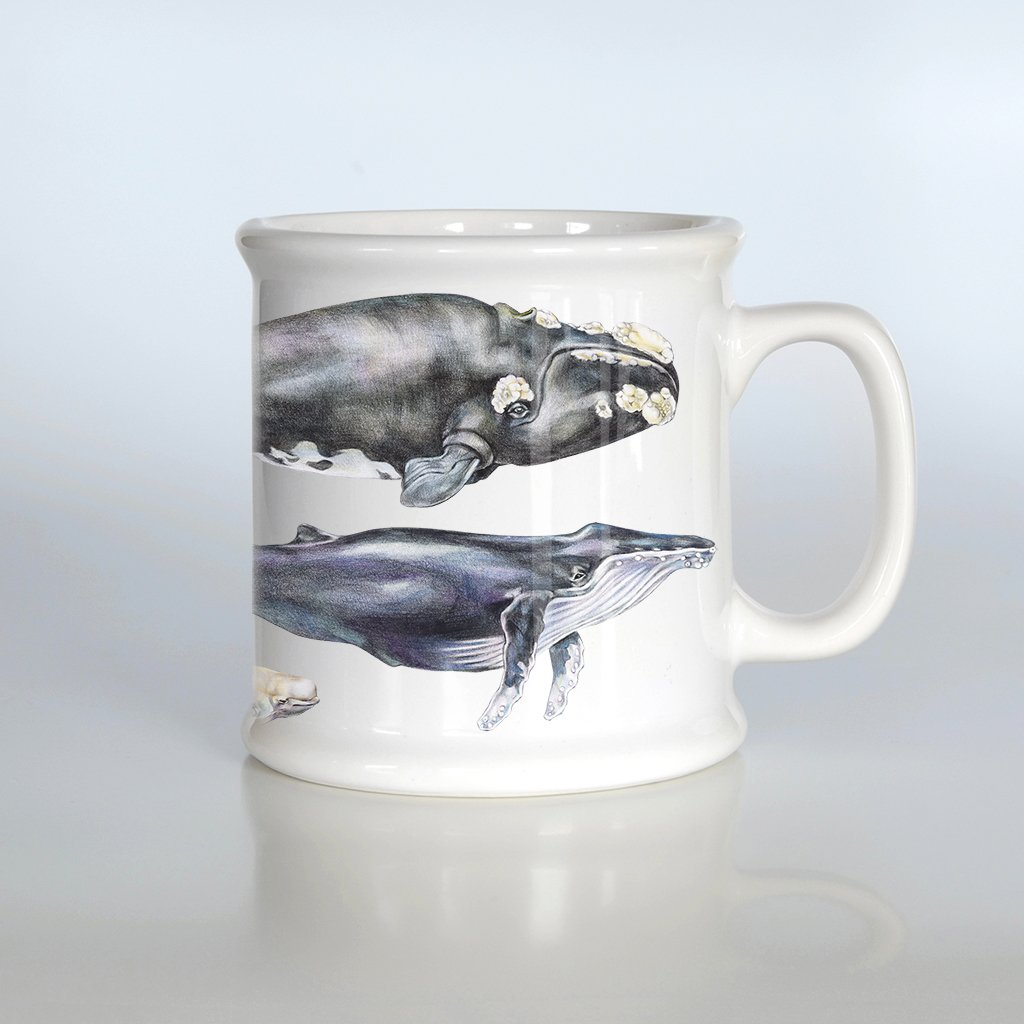 [080-AM] World Whales American Mug