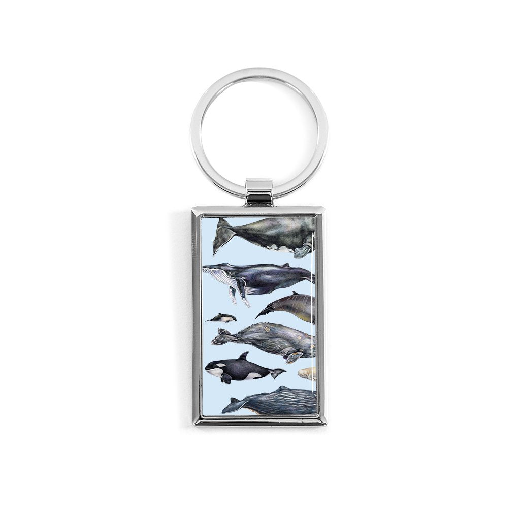 [080-KR] Whales of the World Key Ring
