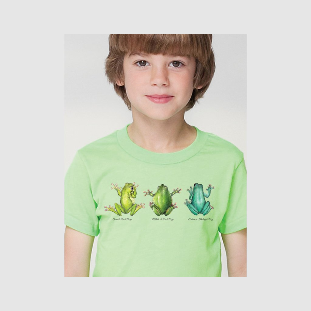 [110-T] Frog Trio Tee