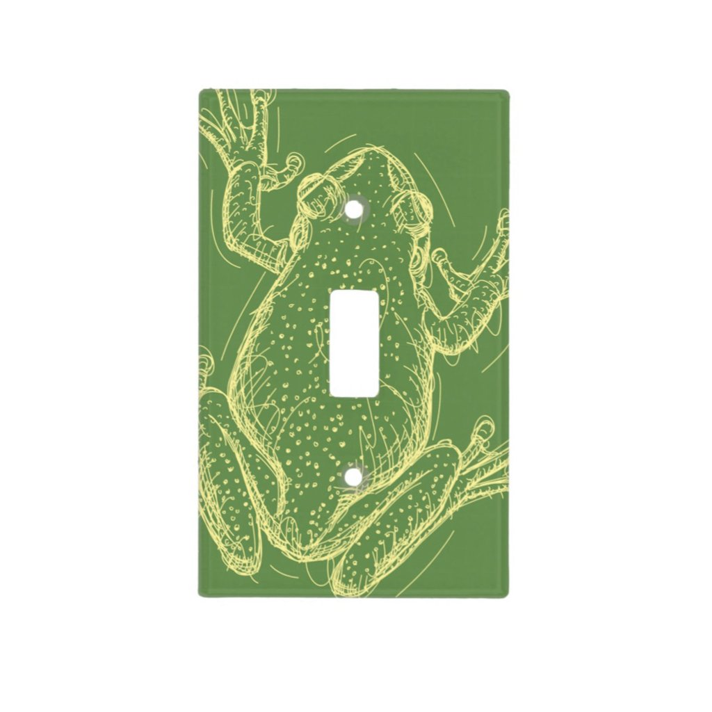 [113-SC] Frog2 Light Switch Cover